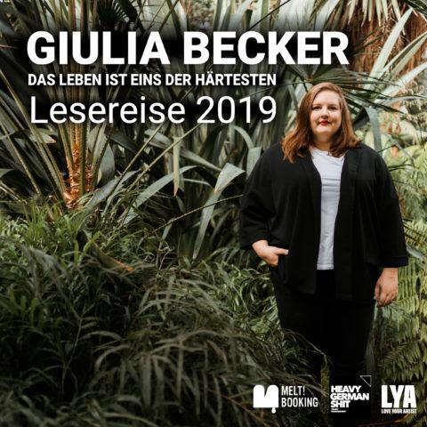 Giulia Becker - Lesereise 2019