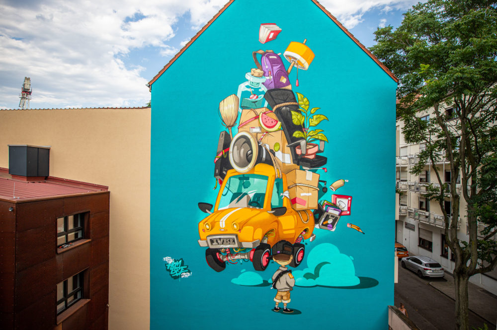 Bohmann Wandmalerei Referenzen Fassadengestaltung 0